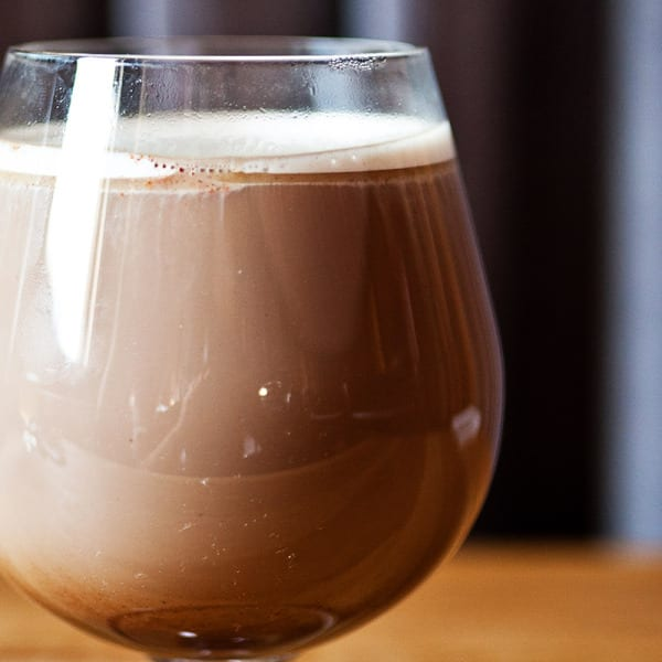Not Your Grandmother's Hot Chocolate