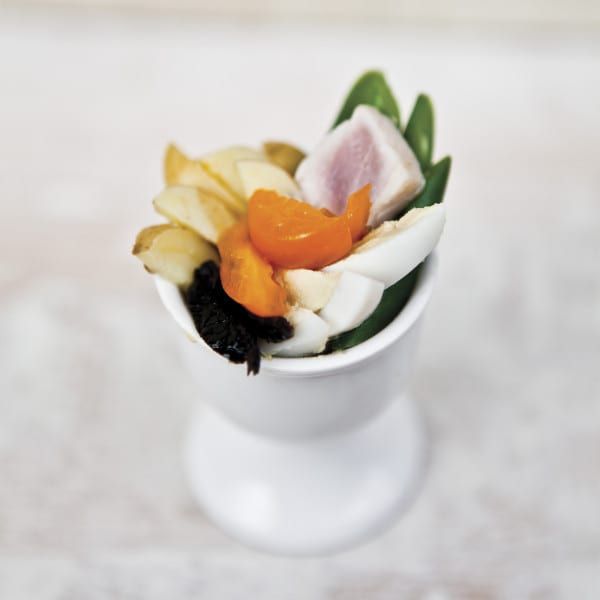 Nicoise Egg Salad with French Vinaigrette