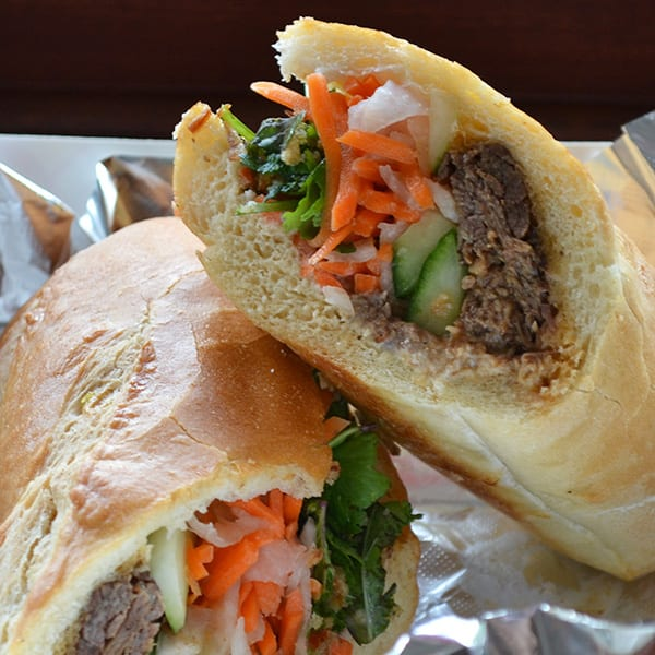 Banh Mi Sandwich  Photo by Anabel Jones