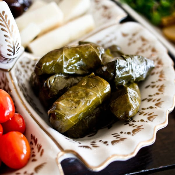 Dolmades (Stuffed Grape Leaves) | The Local Palate | The ...