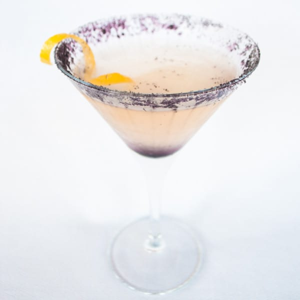 Lavender and Lemon Martini