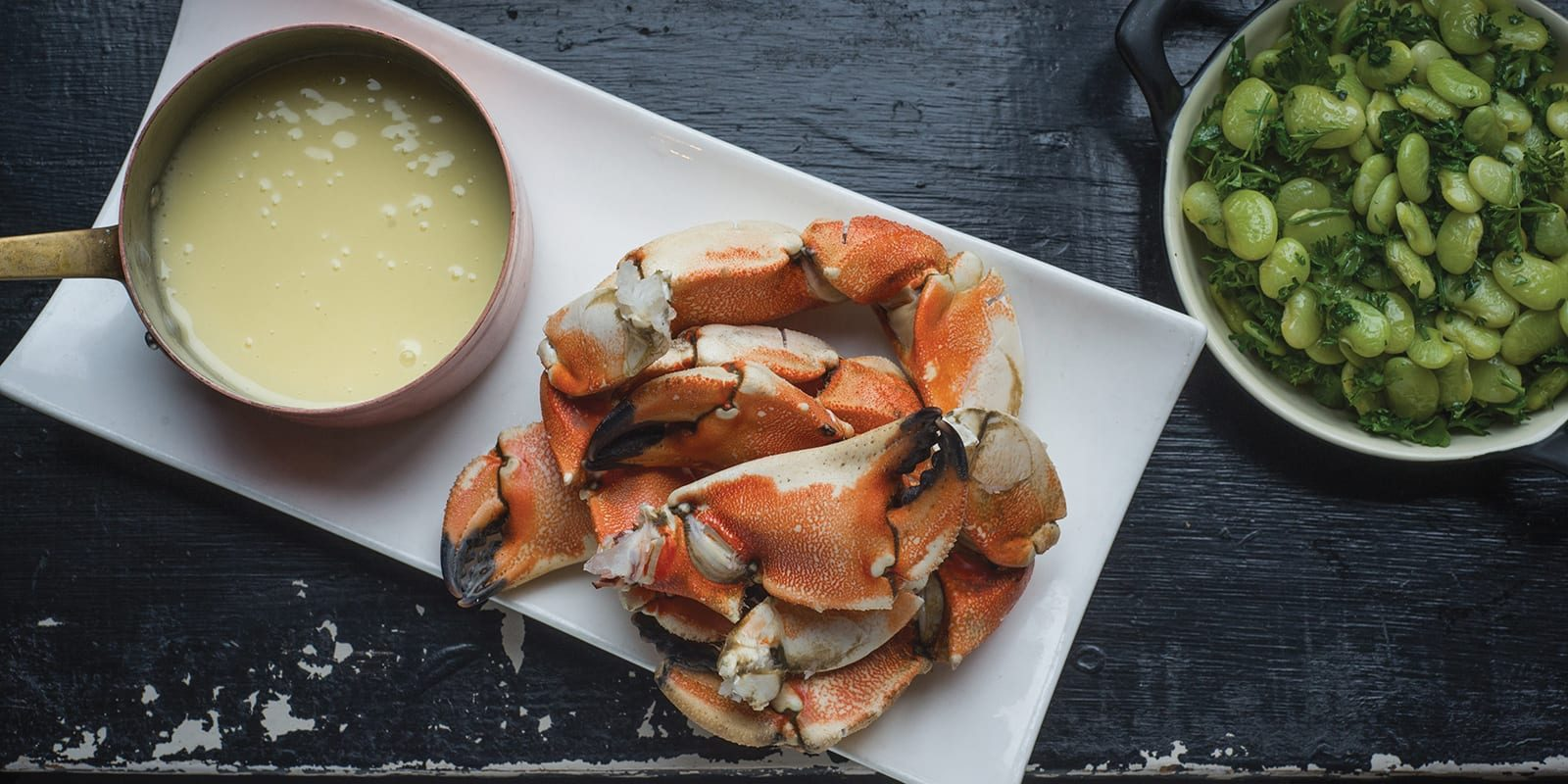 A Grown-Up Crab Crack for Sunday Supper