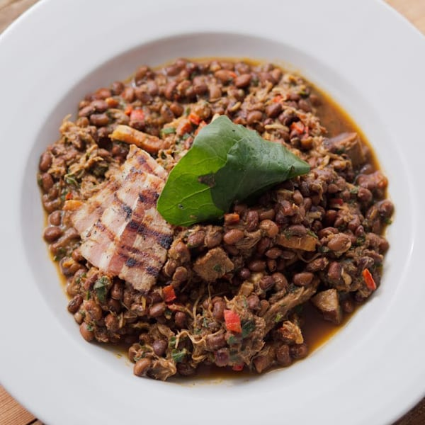 Chicken and Red Pea Cassoulet