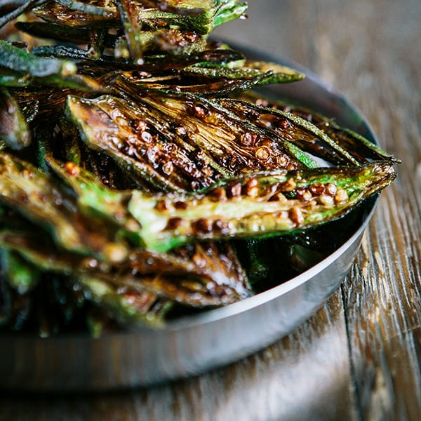 Chai Pani Okra Fries