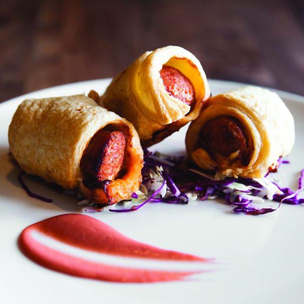 Lap Cheong Pigs in a Blanket