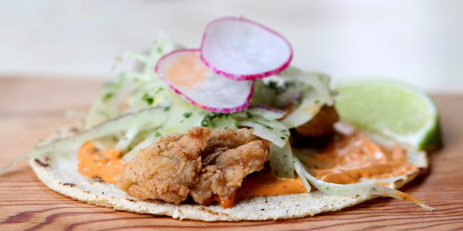 Whatever the Weather, an Oyster Taco is Fine
