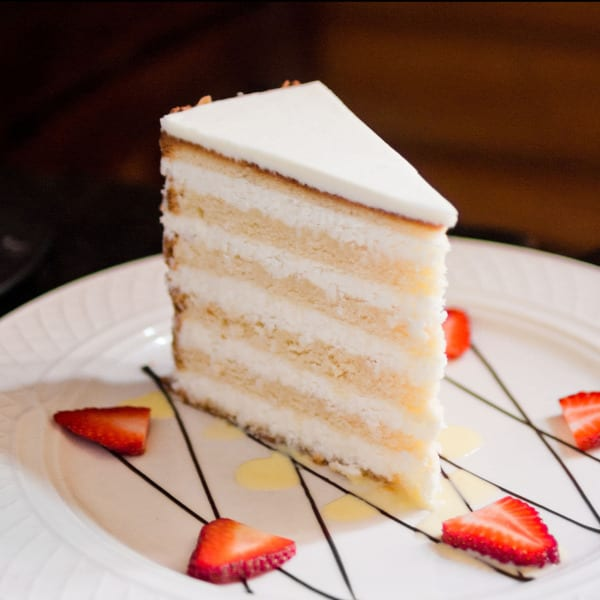 Peninsula Grill's Ultimate Coconut Cake