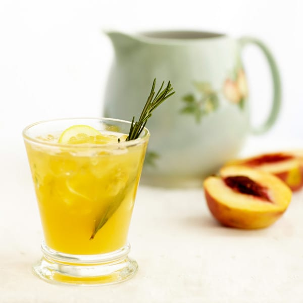 Rosemary-Peach Lemonade | The Local Palate | The Local Palate is the ...