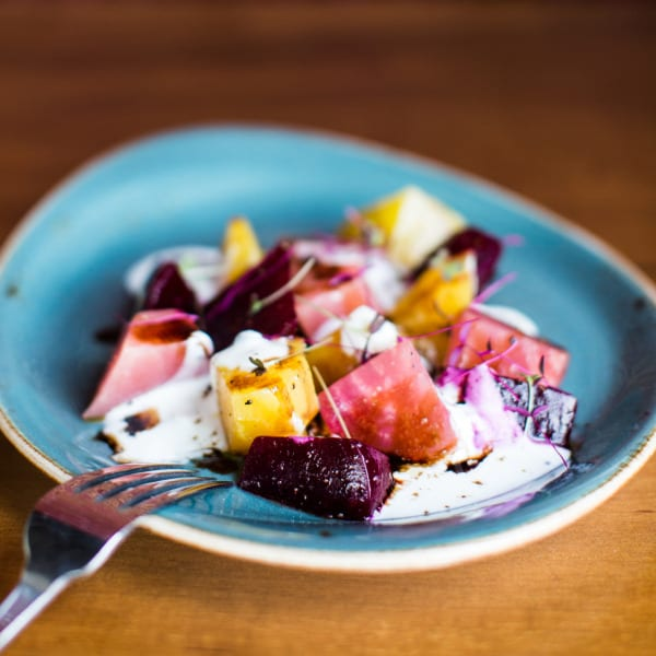 Farm Fresh Beets with Mustard Yogurt Pachadi