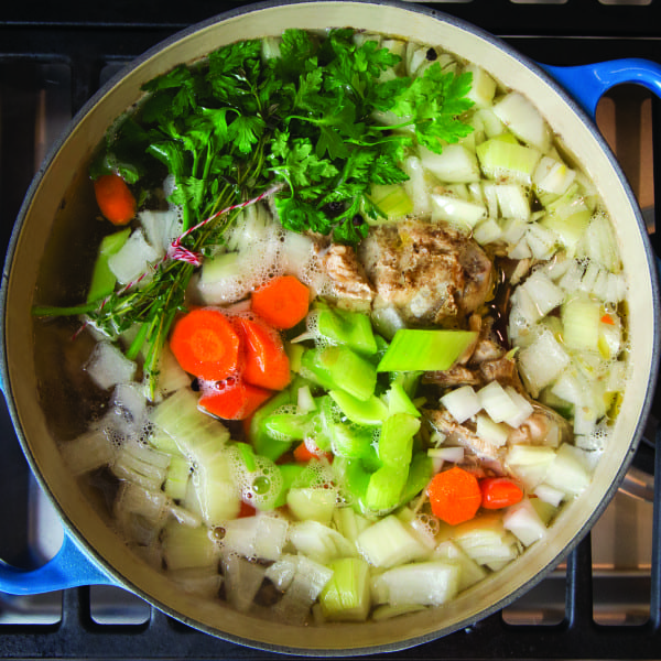 <i>TLP</i> Chicken Stock