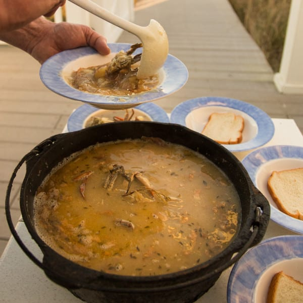 Hard Crab Stew
