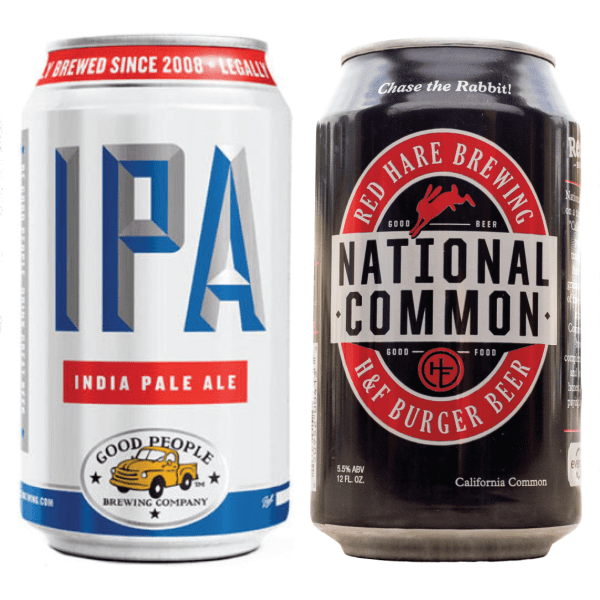 Compilation photo of the best Southern Beers