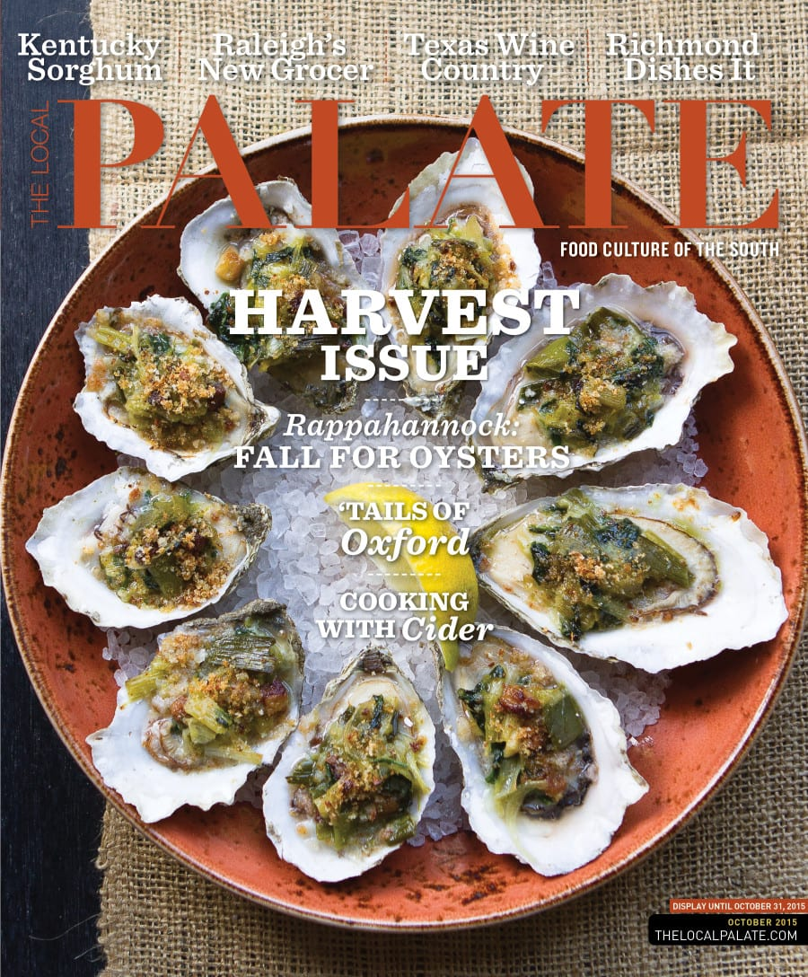 The Local Palate Cover_The Harvest Issue_October 2015