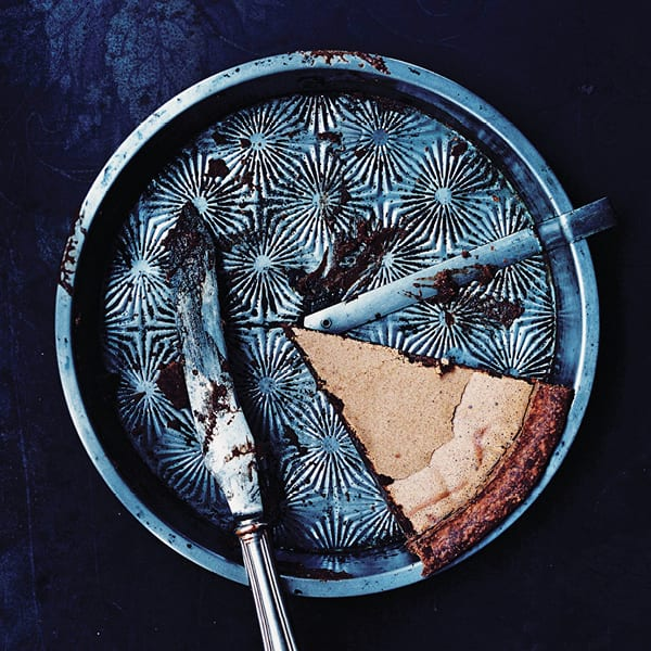 Sean Brock's Chocolate Chess Pie