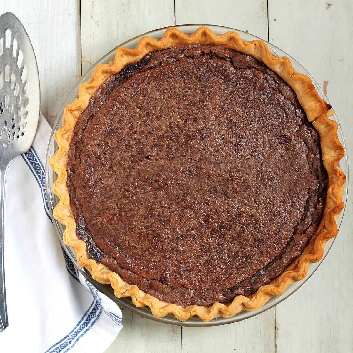 Chocolate Chess Pie | The Local Palate | The Local Palate is the ...