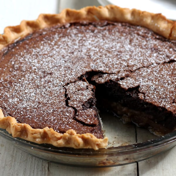 Lisa Donovan's Chocolate Chess Pie (With Bonus Holiday Baking Tips)