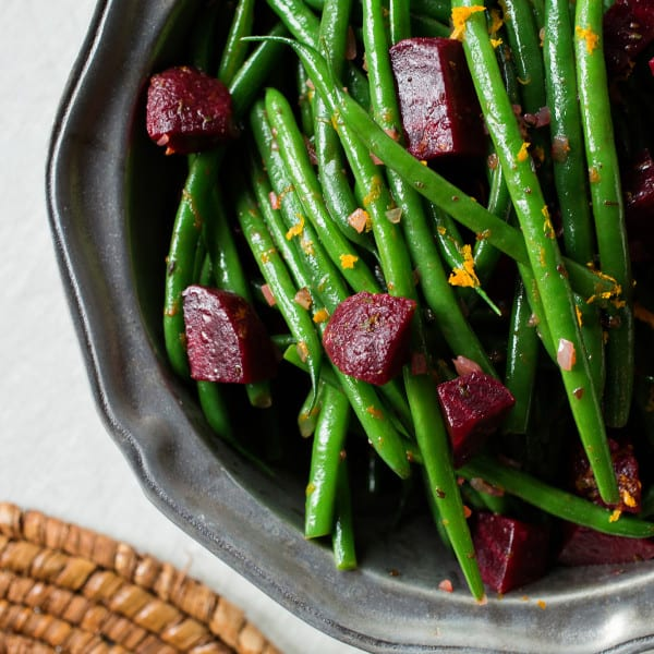 Green Beans and Beets with Citrus