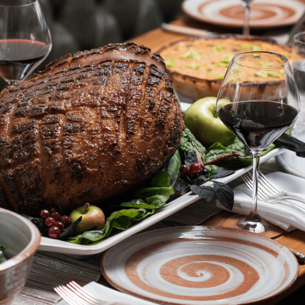 A Decadently Modern Holiday Ham Dinner