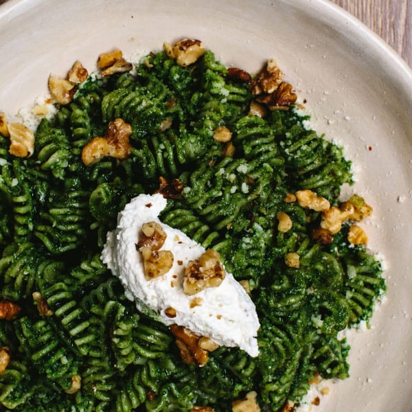 No basil? No problem. <br>A Basil-Free Winter Pesto