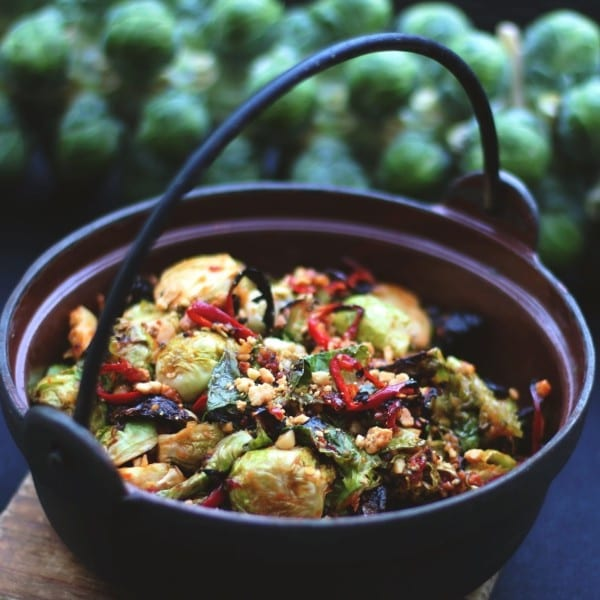 Vietnamese Roasted Brussels Sprouts