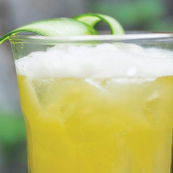 Summer Bourbon Cucumber Cooler