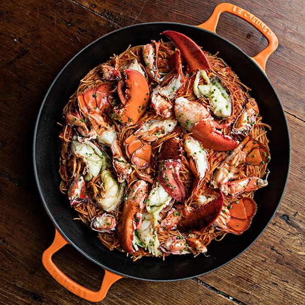 Spicy Lobster Fideos