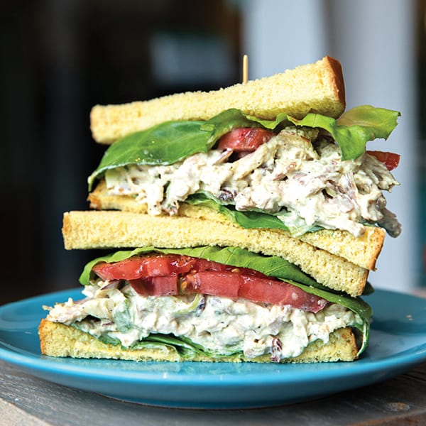 Country Captain Chicken Salad