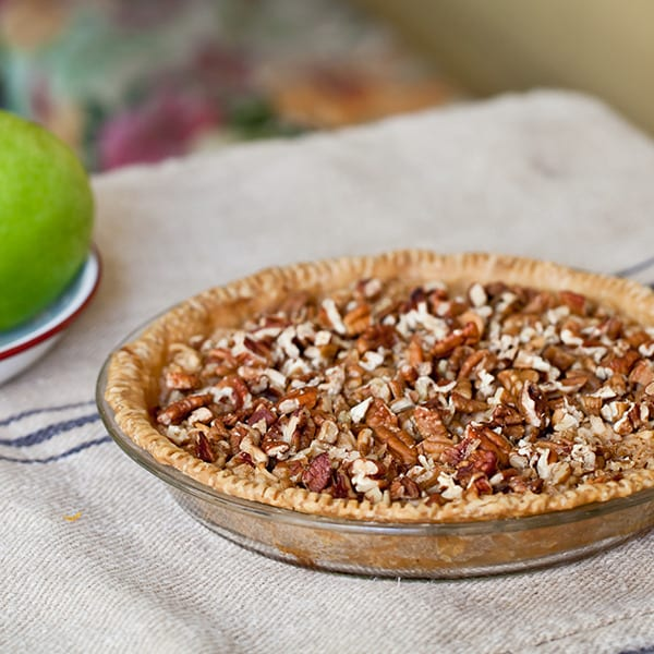 LuLen's Grated Apple Pie