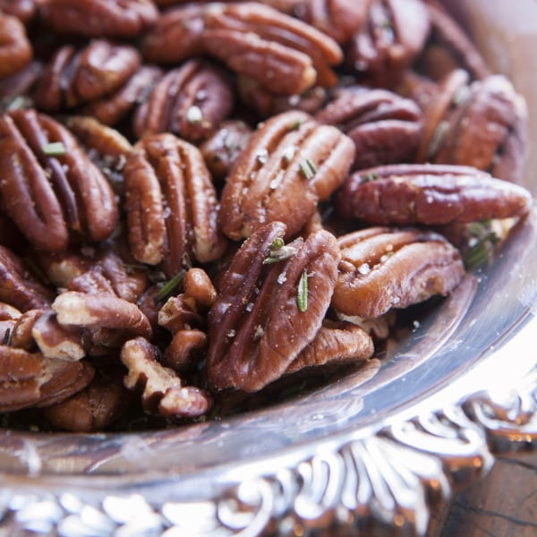 Rosemary Roasted Pecans