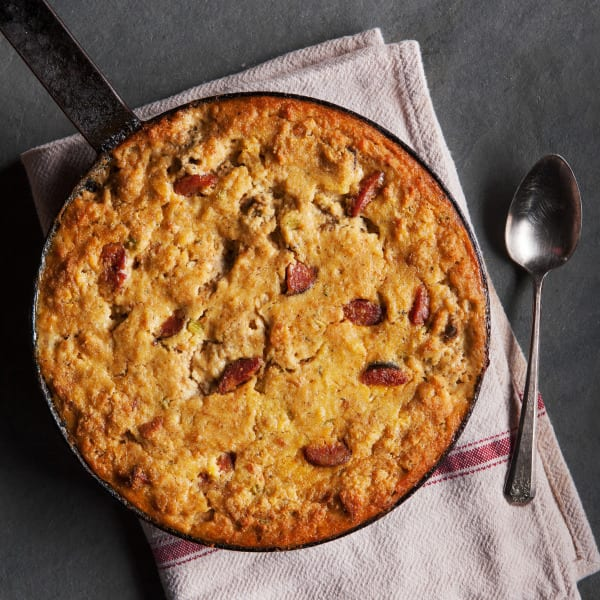 Oyster and Andouille Cornbread Dressing