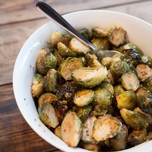 Honey-Mustard Brussel Sprouts
