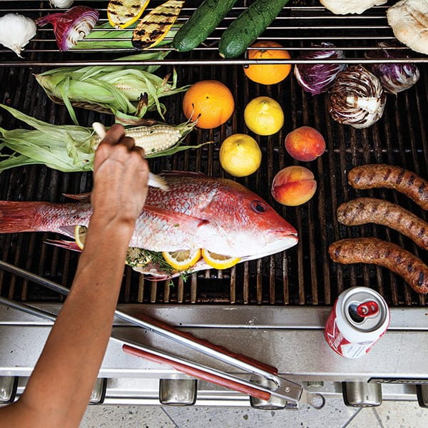The Four Rules of Backyard Grilling