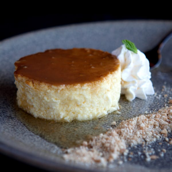 Caramel-Ginger Cheesecake