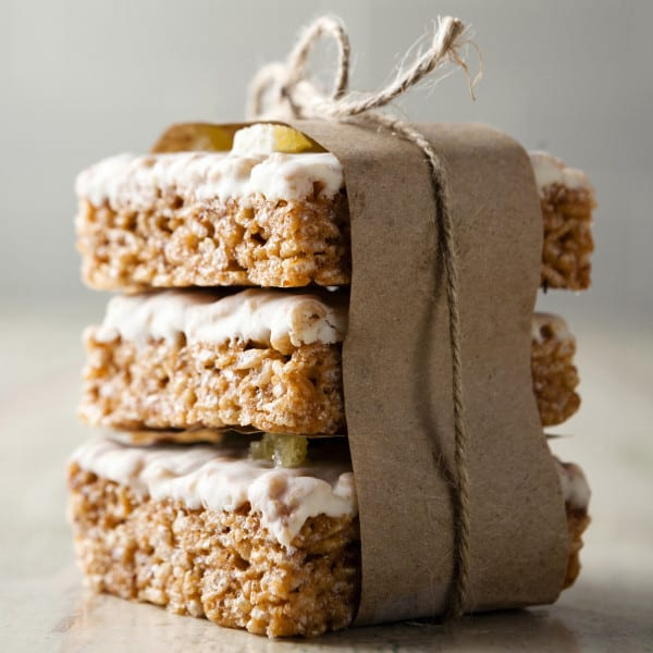 Gingerbread Rice Krispies
