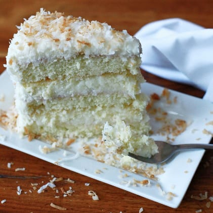 Blackbird Coconut Cake
