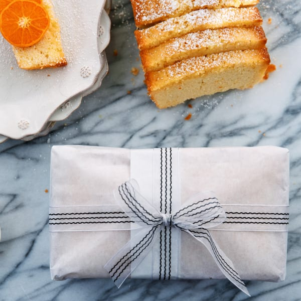 Orange Ginger Pound Cake