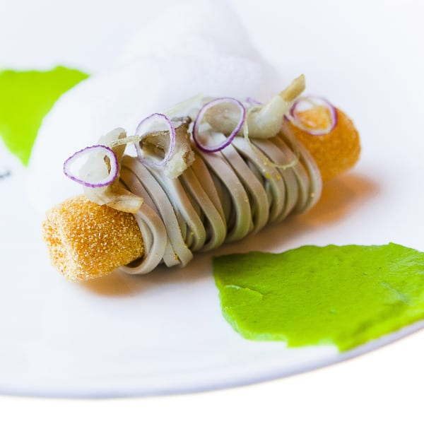 Deconstructed Oyster Stew