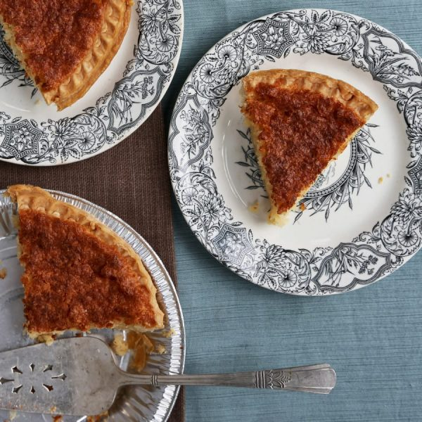 Framish Pie: <br>French Coconut and Amish Buttermilk Hybrid