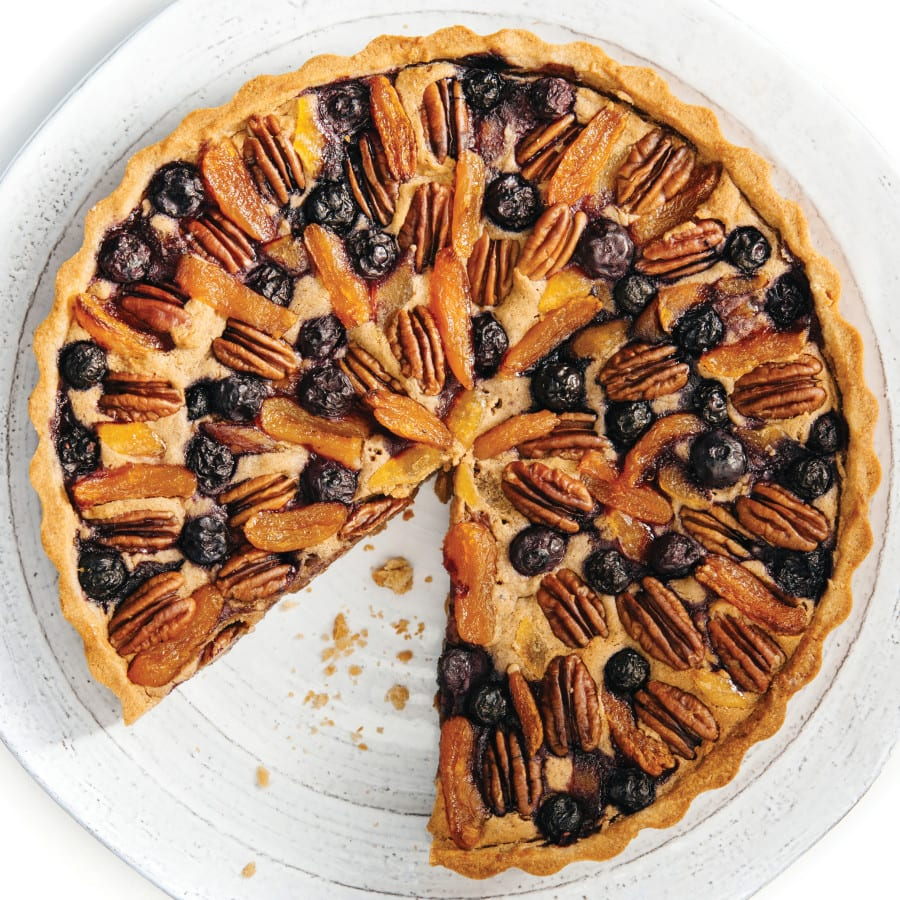 Fruit + Nut Tart