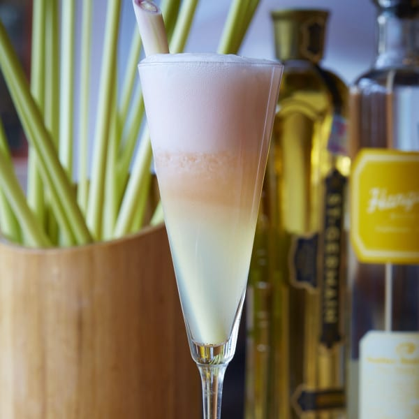 Lemongrass Fizz Cocktail