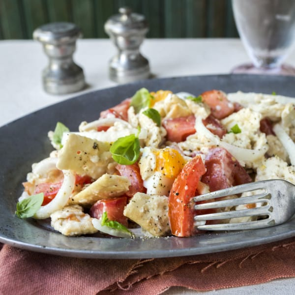 Tomato Cracker Salad