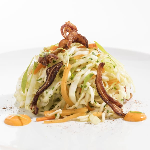 Coleslaw with Honey Fish Sauce