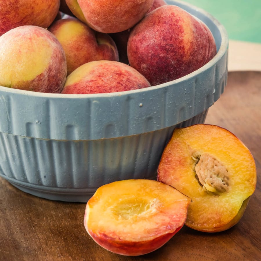 Peaches from Scratch Bakery of Durham, NC of Peaches Key Ingredient, August 2015