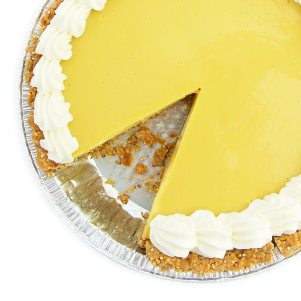 Key Lime Pie with Almond Granola Crust