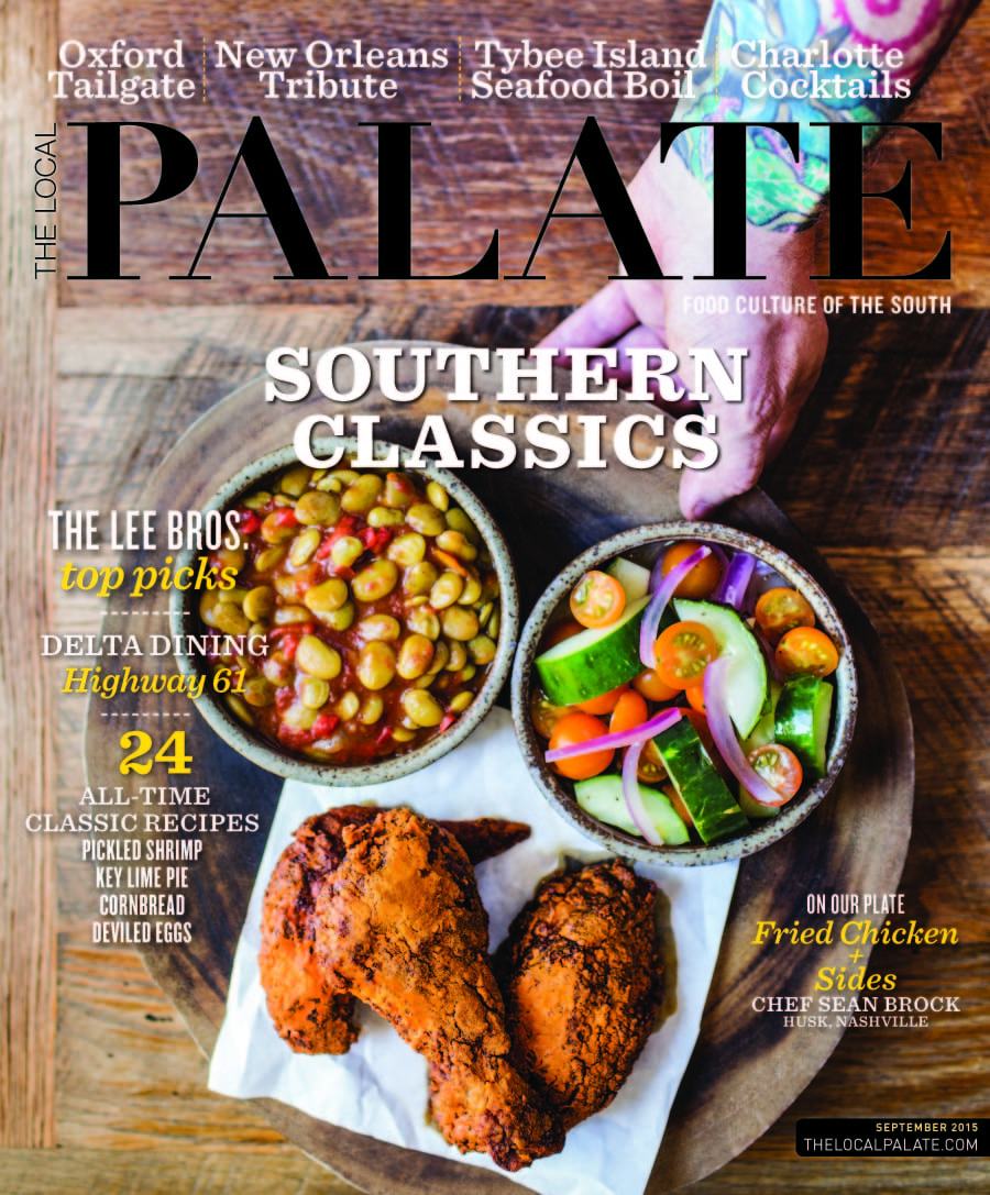 The Local Palate September 2015 Cover