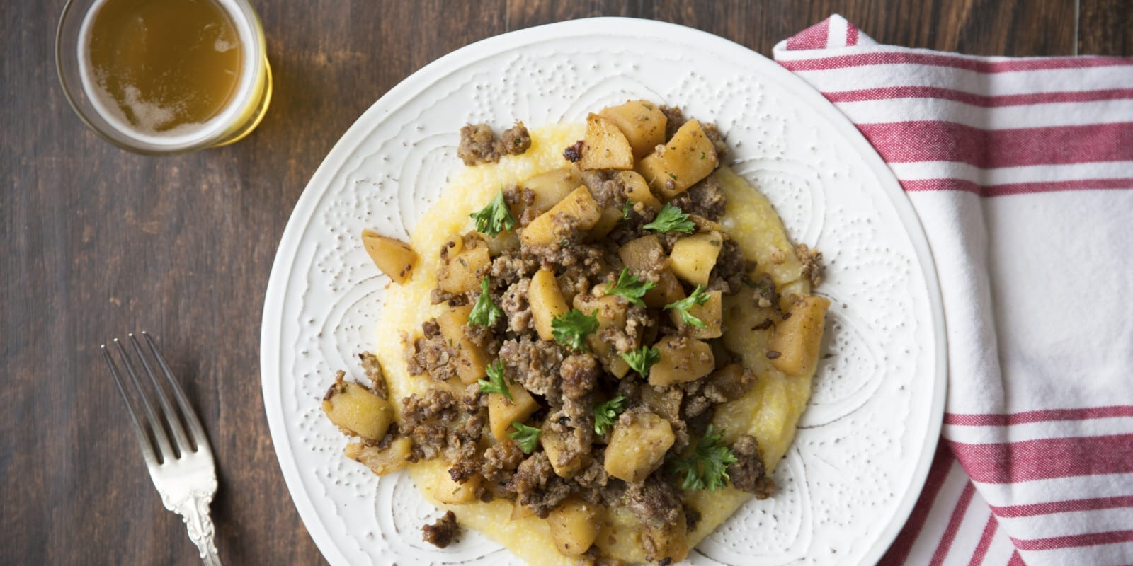 Sausage and Apples are a Go-To Dinner Recipe for Nathalie Dupree