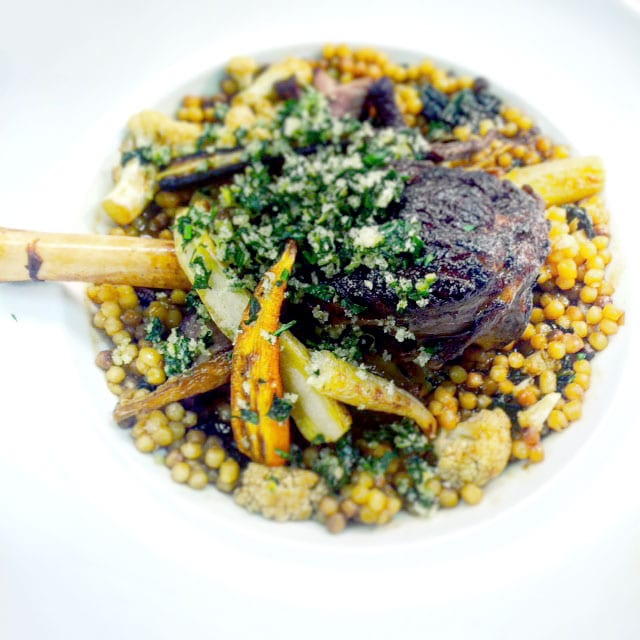 These cold winter nights demand hearty comfort food, and Chef Alex Harrell of Angeline in New Orleans has a recipe for Braised Lamb Shanks guaranteed to keep you warm.