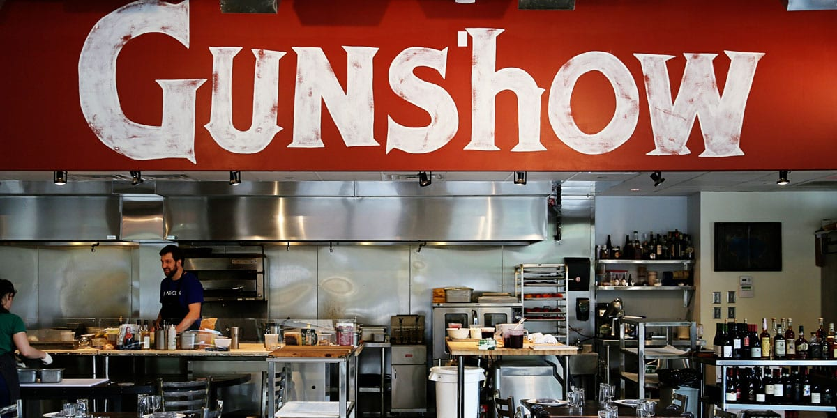 Dine with the Big Guns at Gunshow