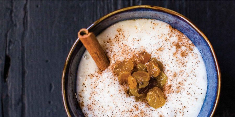 Rice Pudding with Lots of Cinnamon and Raisins Recipe
