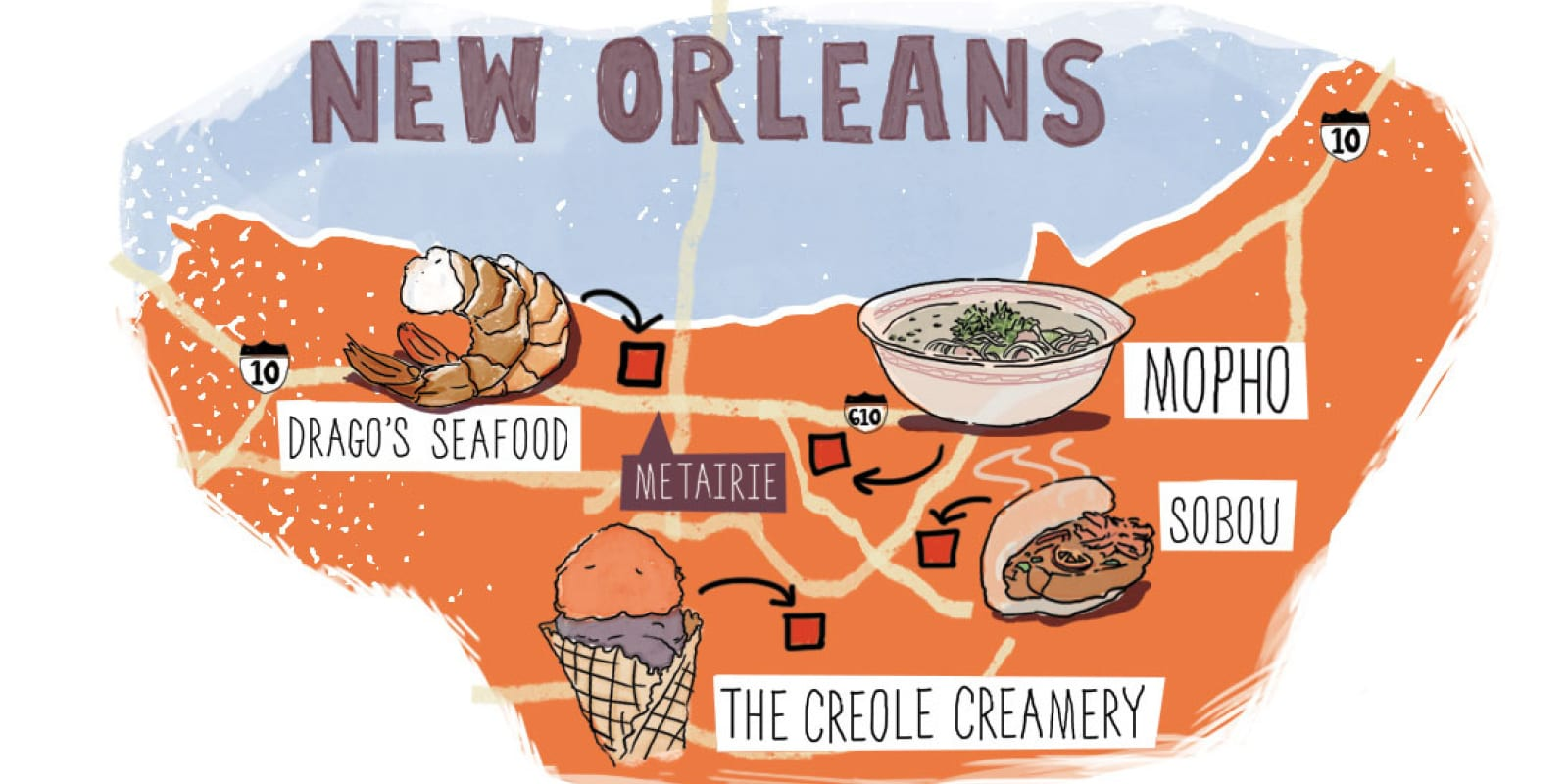 Eating Louisiana: From Hub City to the Big Easy